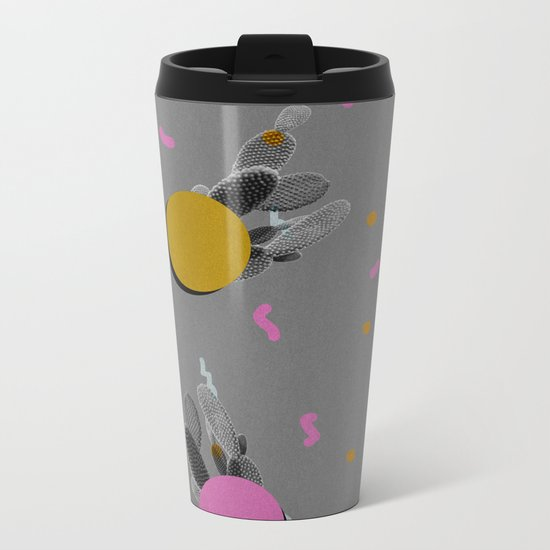Cacti 1 Metal Travel Mug