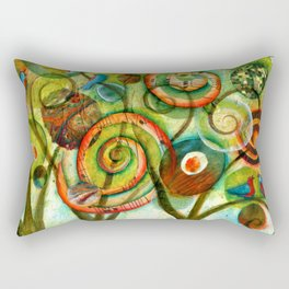 Celebrate Life Rectangular Pillow