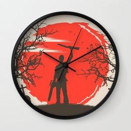 Ash Williams Wall Clock
