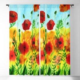 Just Poppin - Vivid & Bright Blackout Curtain