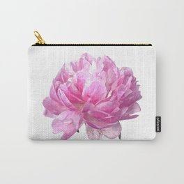 Pink peony illustration Carry-All Pouch