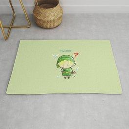 Hey Listen! Cute Link From Zelda Kawaii :) Rug