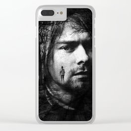 KurtCobain Poster Clear iPhone Case