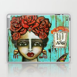 FRIDA PAINTING BAD ASS Laptop & iPad Skin