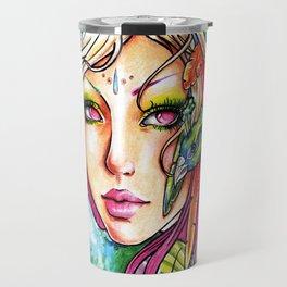 Spirit Of the Peacock Travel Mug