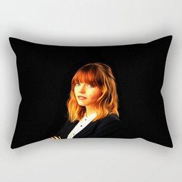 Emma Stone - Celebrity Art Rectangular Pillow