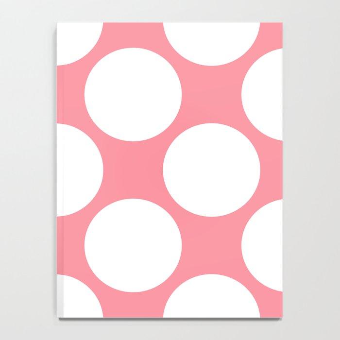 Polka Dots Pink Notebook