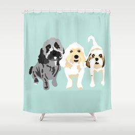 Simon, Riley, Holden Shower Curtain