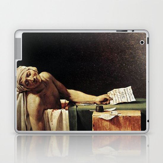 Death of Marat by - Jacques-Louis David by famouspaintings