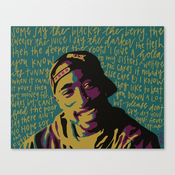 Keep Ya Head Up. Canvas Print