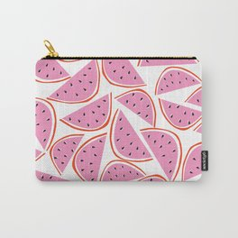 Graphic Watermelon Slice Carry-All Pouch