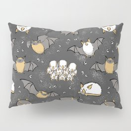 Pipistrelle and Honduran Bats Pillow Sham
