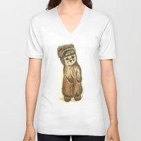lydia martin V-neck T-shirts featuring Martin by Sam Luotonen