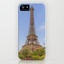 Idyllic Paris view iPhone Case