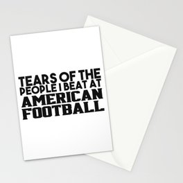 American football gifts Stationery Cards
