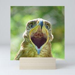 Screaming Steppe Eagle Mini Art Print