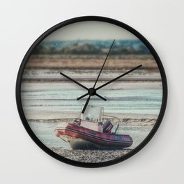 It Ends Here Wall Clock