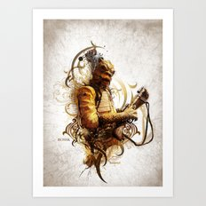 Star Wars _ Bossk Art Print