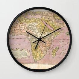 Africa 1562 Wall Clock
