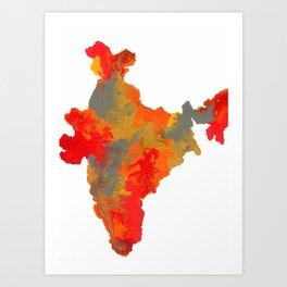 INDIA Art Print