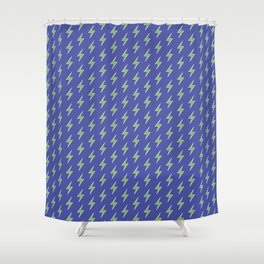 Charged Up Shower Curtain