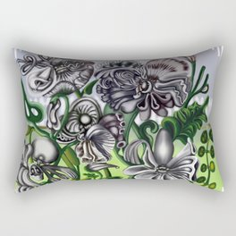 The Bipatisan Pansy Seed Packet Rectangular Pillow