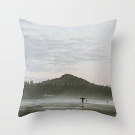 Dusk in Tofino Throw Pillow