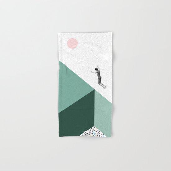 Minimal. Modern. Concept Art. Hand & Bath Towel