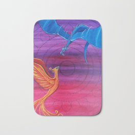 Everlasting Love - Dragon and Phoenix Bath Mat
