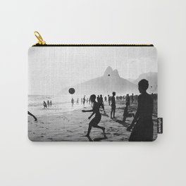 Beach Soccer at Ipanema Carry-All Pouch