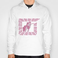 mlp Hoodies featuring MLP: Pinkie Pie goes Whoo by turokevie