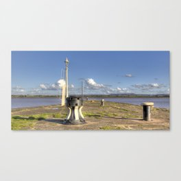 Lydney Harbour Jetty Canvas Print