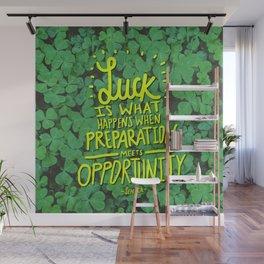 Luck x Seneca Wall Mural