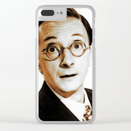 Charles Hawtrey, Carry On Legend Clear iPhone Case