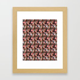 Little Full, Lotta Sap Framed Art Print