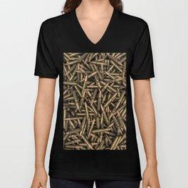 Rifle bullets Unisex V-Neck