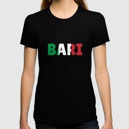 Bari Italy flag holiday gift T-shirt