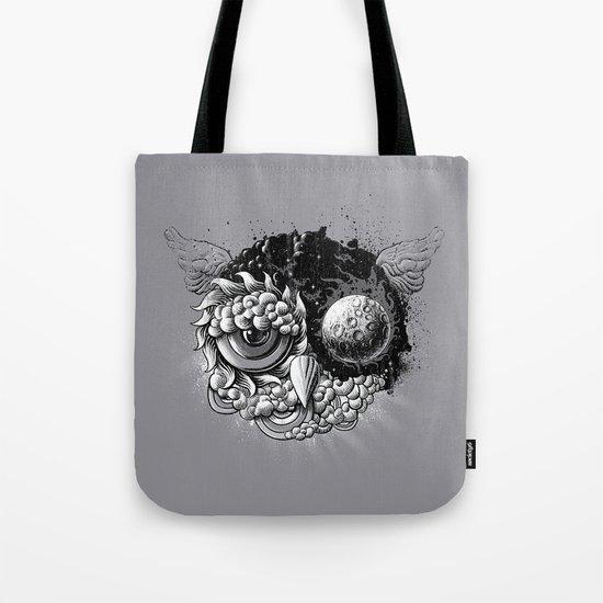 Owl Day & Owl Night Tote Bag