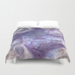 purple agate 0743 Duvet Cover