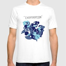 inspiration SMALL White Mens Fitted Tee