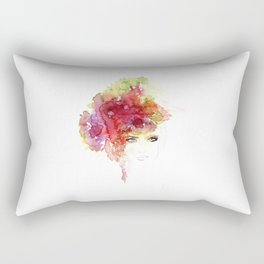 Flower B Rectangular Pillow