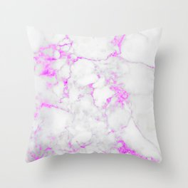 Marble Textures #spring #decor #society6 Throw Pillow