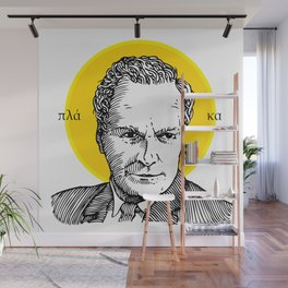 St. Feynman Wall Mural