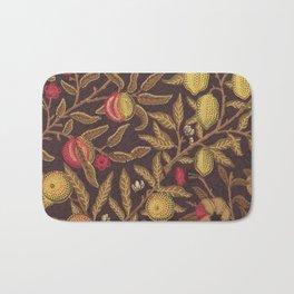 William Morris Vintage Victorian Floral Pattern Bath Mat