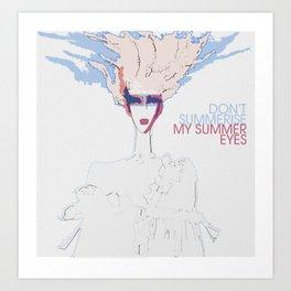 summer eyes Art Print