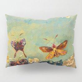 """Odilon Redon """"Butterflies"""" Pillow Sham"""
