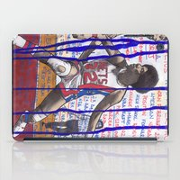 nba iPad Cases featuring NBA PLAYERS - Julius Erving by Ibbanez