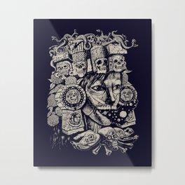 Mictecacihuatl 2 Metal Print