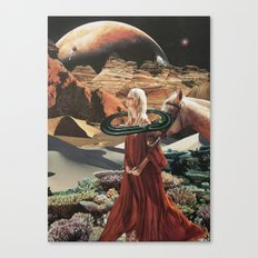 In My Dreams, Everything's Orange Canvas Print