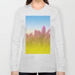 Summer Side Long Sleeve T-shirt